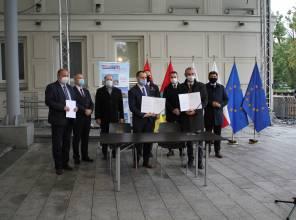 Podpisanie umowy na opracowanie projektu mostu przez rzekę San w Stalowej Woli i Brandwicy