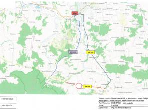 19 - 30 kwietnia zamknięcie DW 993 na odcinku Pielgrzymka - Nowy Żmigród