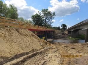 Nowy most w Ulanowie będzie gotowy jeszcze w tym roku